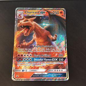 Pokémon Jumbo Charizard Gx Sm195 Oversized Primo Card for Sale in San Rafael, CA