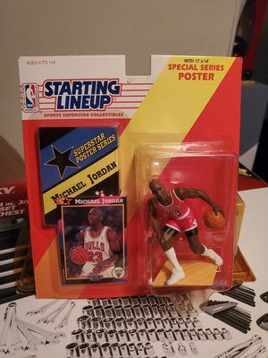 Starting Lineup Michael Jordan 1992 action figure SHARP! SEALED! In case for Sale in Phoenix, AZ