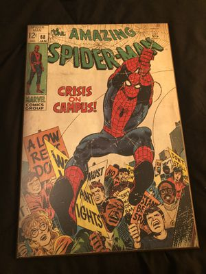 Spider-Man wooden pinup poster for Sale in Chico, CA
