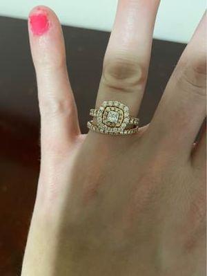 Diamond Engagement Ring Set for Sale in Ranson, WV