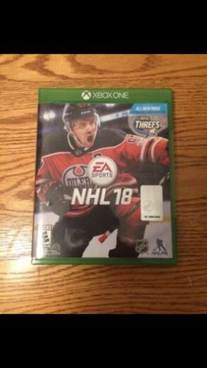 NHL 18 - Xbox One for Sale in Pittsburgh, PA