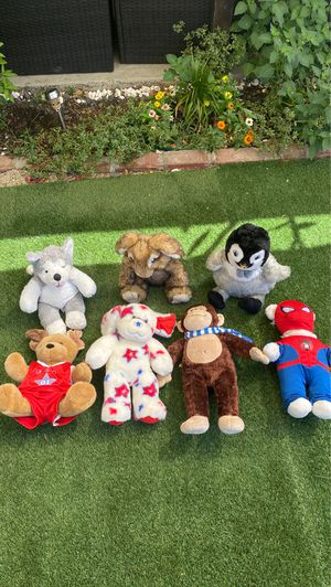 Build-A-Bear stuffed animals for Sale in Los Angeles, CA