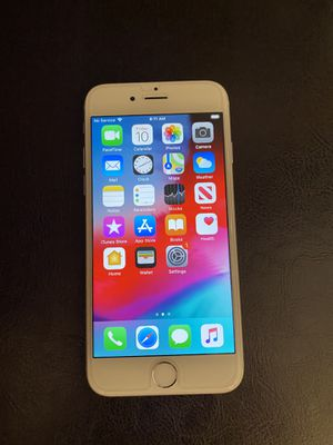 iPhone 6 matte grey 16GB unlocked with clear case for Sale in Upland, CA
