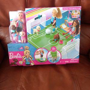 Chelsea's Soccer Playset!! for Sale in Tijeras, NM