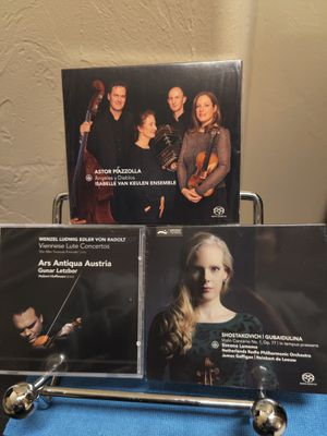 3 SACD VIOLIN ORCHESTRA audiophile CD.Wow! for Sale in Edmond, OK