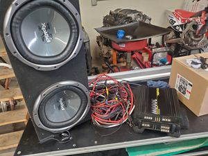 Car amplifiers and subs for Sale in Modesto, CA