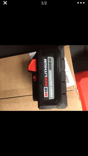 Milwaukee batteries for Sale in San Diego, CA