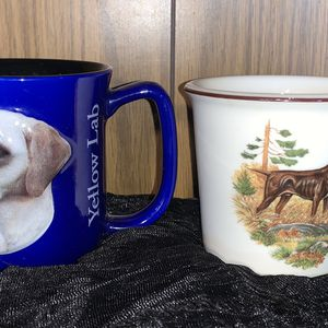 Pair of Collectible Puppy Dog 3D Coffee Cups Mugs for Sale in Sacramento, CA