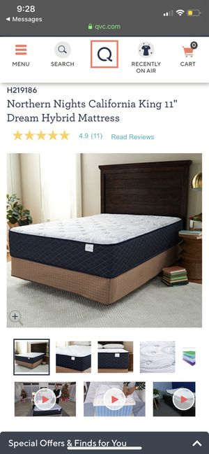 Northerlight Cali king bed basically brand new for Sale in Owings Mills, MD