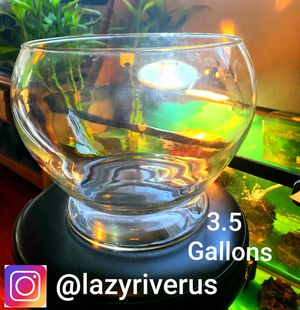 Lazyriver fishbowl!!! 3.5 gallons !!! for Sale in Torrance, CA