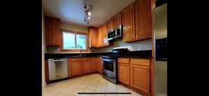 kitchen cabinets Counter tops Stove and Microwave for Sale in San Fernando, CA