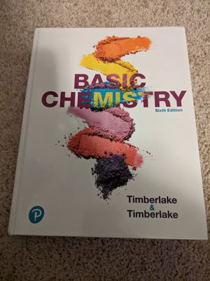 Chemistry textbook for Sale in Frisco, TX