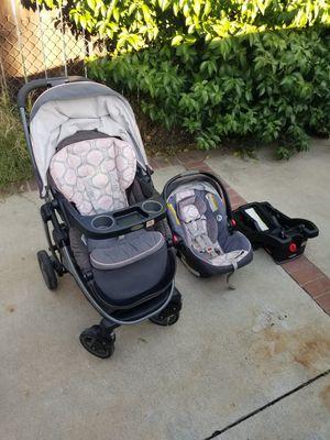 Baby Stroller w/ Car Seat for Sale in Pomona, CA