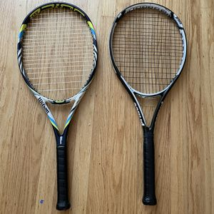 Tennis Rackets: Wilson Juice 108 & Prince Exo 3 Warrior 100 for Sale in Mountain View, CA