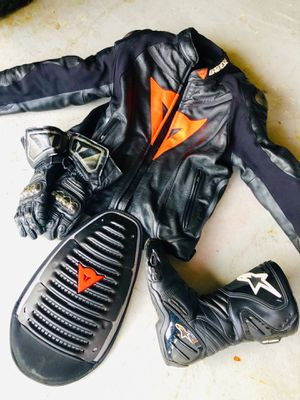 Dainese Motorcycle jacket and gear for Sale in North Bergen, NJ