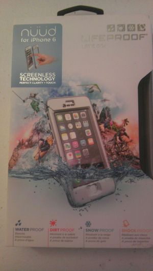 Lifeproof Case for IPhone 6 w/ screenless technology OBO for Sale in Lodi, CA