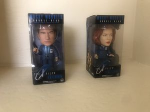 X Files, Mulder, Scully, Fox, collectibles, Toys for Sale in Litchfield Park, AZ
