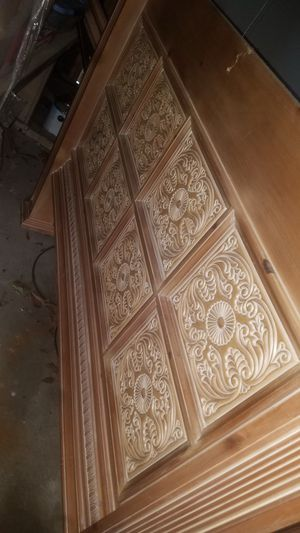 Solid Wood Queen Bed Frame for Sale in Mineola, TX