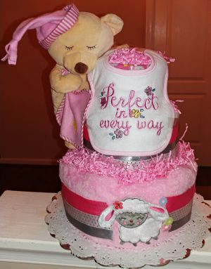 Nap Time Diaper Cake for Sale in Fort Washington, MD