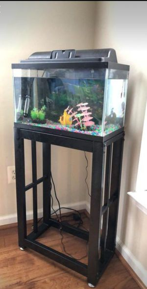 Fish tank and stand for Sale in Vienna, VA