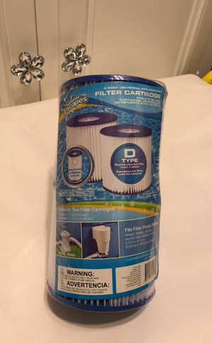 Pool filter cartridge type D for Sale in Tampa, FL
