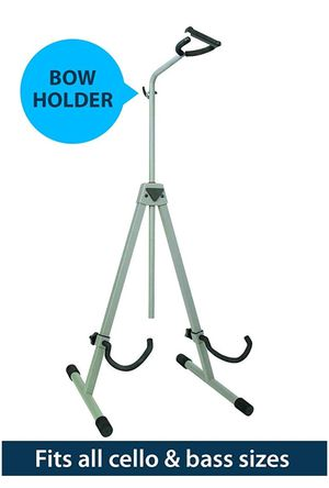 Cello/ Bass stand with bow holder for Sale in Mesa, AZ