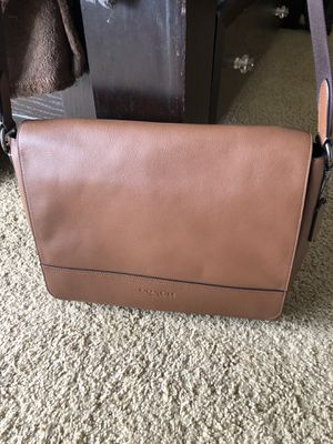 Coach leather messenger bag for Sale in San Diego, CA