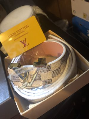 Louis Vuitton Belt (Authentic With Box & Warranty Card) for Sale in Portland, OR