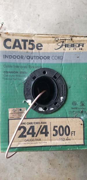 Cat 5e cable for Sale in Dade City, FL