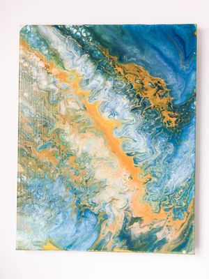 Mermaid style acrylic pours for Sale in Fort Leonard Wood, MO