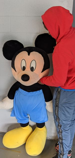 Huge large big jumbo oversized Mickey mouse plush stuffed animal for Sale in Hyattsville, MD