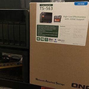 Qnap TS-563 NAS Storage for Sale in Pasadena, TX