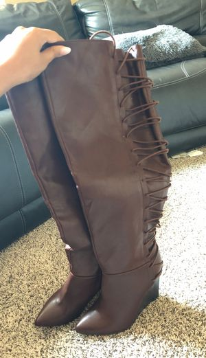 Thigh high boots for fall for Sale in Aurora, CO