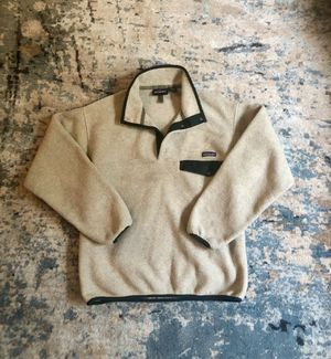 Vintage Beige Patagonia Synchilla for Sale in Lake Forest, CA