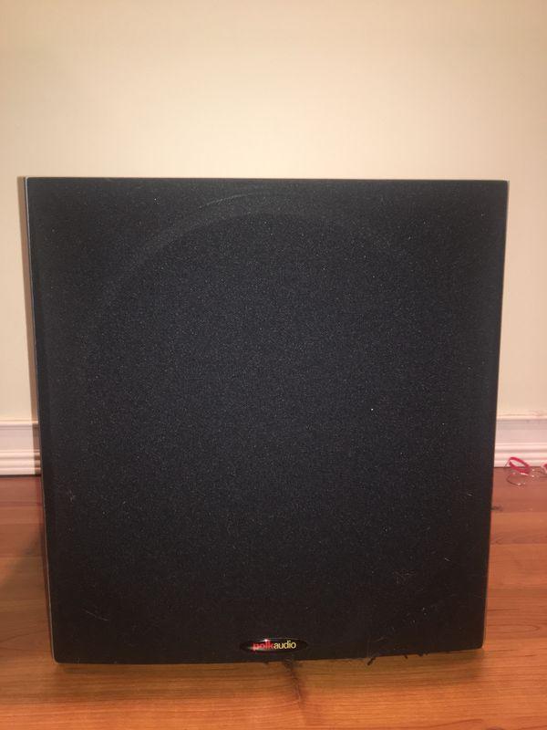 1 Polk Audio PW505 12-Inch Powered Subwoofer