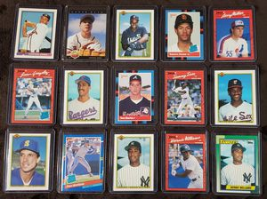 Lot of 15 Rookie Baseball Cards for Sale in Westland, MI