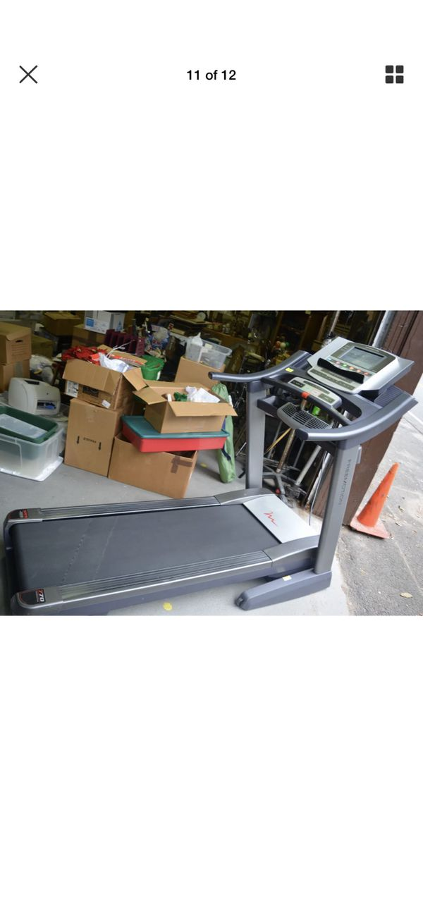 d2ee8ccca56 FreeMotion 770 Interactive Incline Treadmill Trainer - Ipod ...