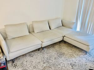 Modern Ikea Beige Sectional for Sale in Wayne, PA