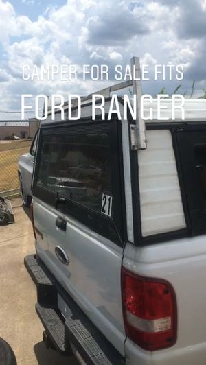 Camper for Ford Ranger for Sale in Grand Prairie, TX