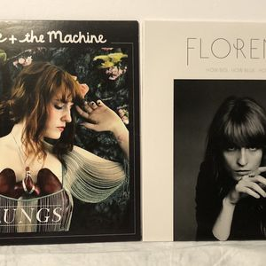EUC Florence And The Machine Lungs & How Big How Blue How Beautiful Record Vinyl Albums for Sale in Freehold, NJ