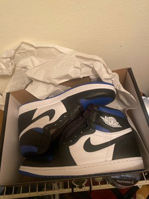 Jordan 1 royal toe DS brand new size 10.5 FIRM for Sale in Hazelwood, MO