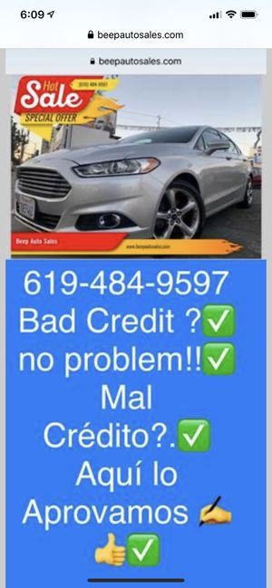 2013 Ford Fusion we Finance Aqui financeamos for Sale in National City, CA