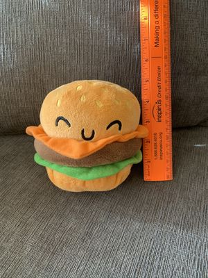 Adorable Burger Animal Plushie- Great Condition! for Sale in Marysville, WA
