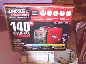Lincoln Electric mig welder140 Amp Weld Pak for Sale in Warwick, RI