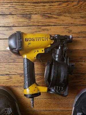 Bostich air nail gun works perfectly!130$ for Sale in Chicago, IL