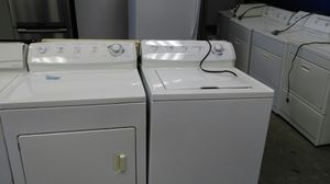 """Frigidaire """"washer & dryer set"""" (white) for Sale in Cleveland, OH"""