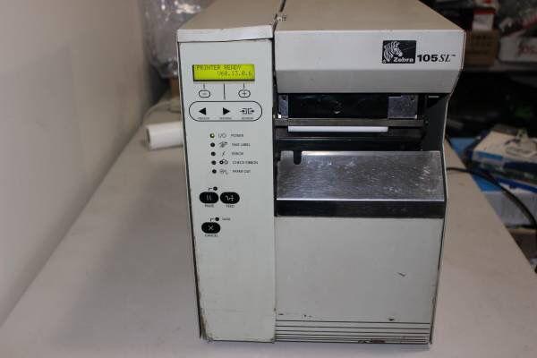 Zebra Technologies 105SL Thermal Label Printer 300dpi Network
