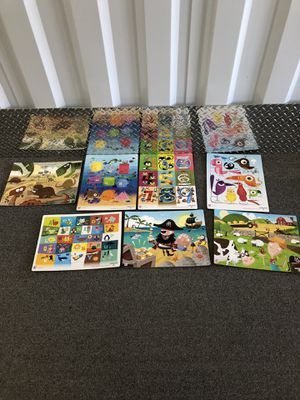 Puzzles - $15 for 12 for Sale in Raleigh, NC