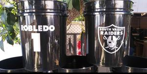 Custom Buckets w/lid for Sale in San Fernando, CA