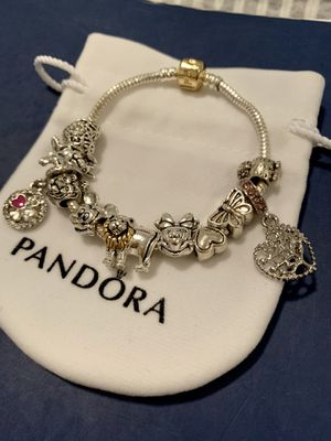 Lion King Minnie and Mickey Charm Bracelet for Sale in Tampa, FL